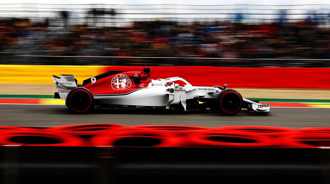 Marcus Ericsson - Sauber - GP Belgien - Spa-Francorchamps - 24. August 2018