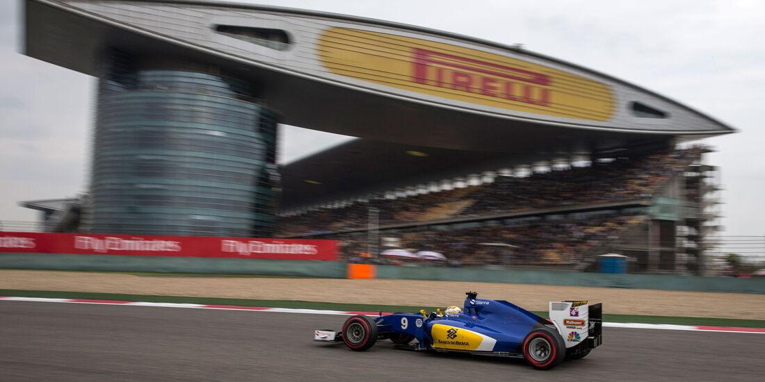 Marcus Ericsson - Sauber - GP China 2016 - Shanghai - Qualifying - 16.4.2016