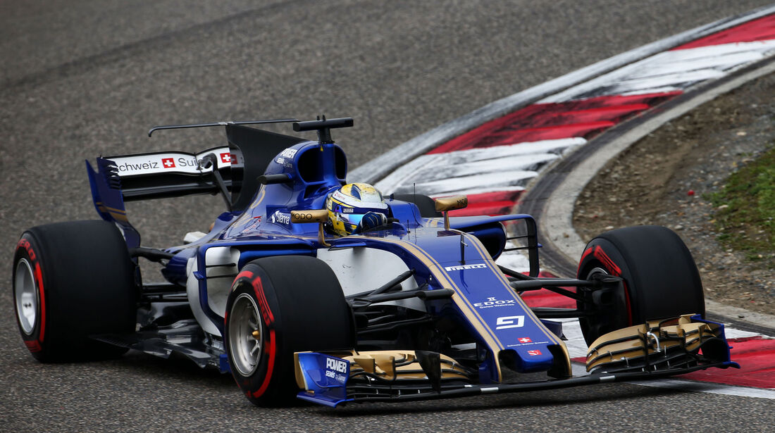 Marcus Ericsson - Sauber - GP China 2017 - Qualifying - 8.4.2017