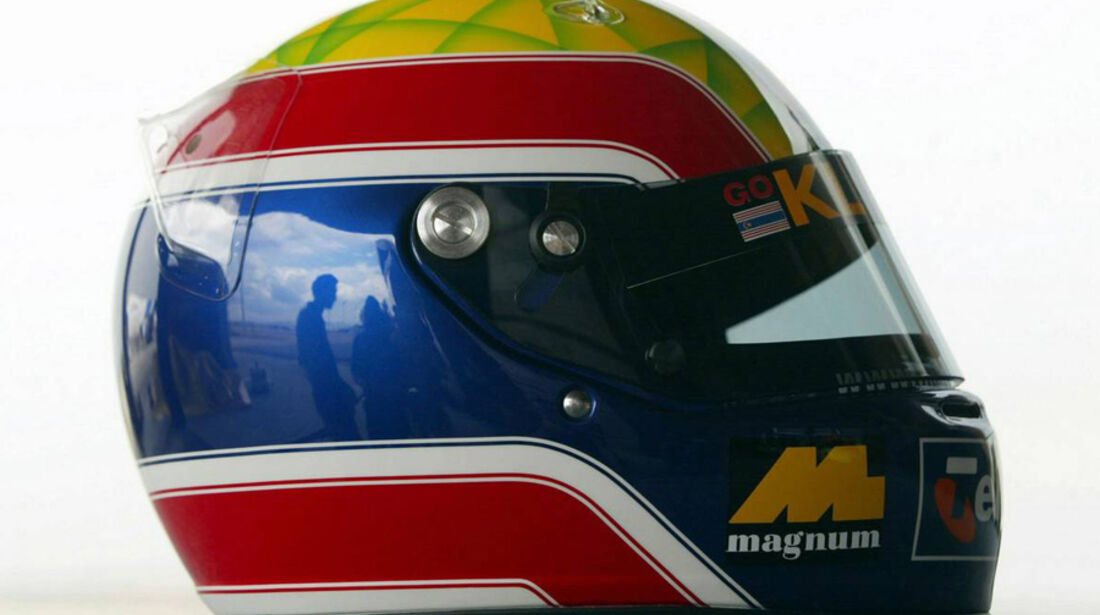 Mark Webber 2002 Helm