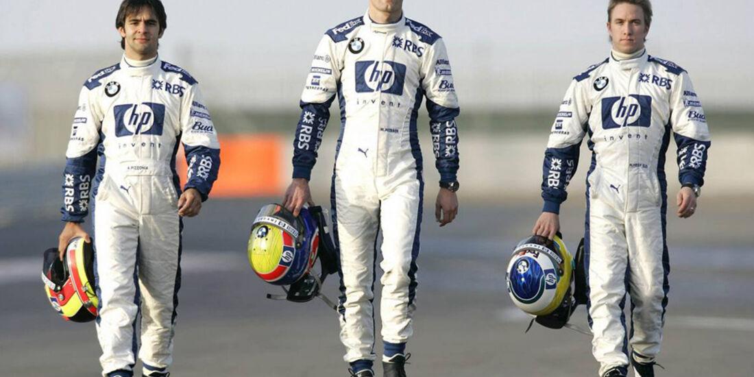 Mark Webber 2005 BMW Williams Heidfeld Pizzonia