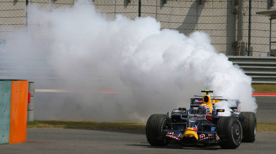Mark Webber 2008 GP China