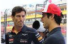 Mark Webber & Daniel Ricciardo - Formel 1 - GP Singapur - 19. September 2013