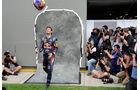 Mark Webber F1 Fun Pics 2012
