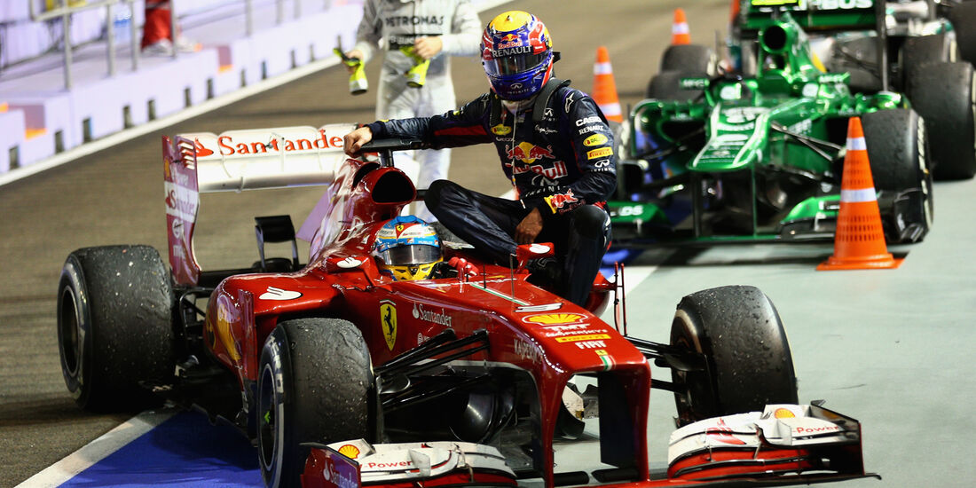 Mark Webber - Formel 1 - 2013