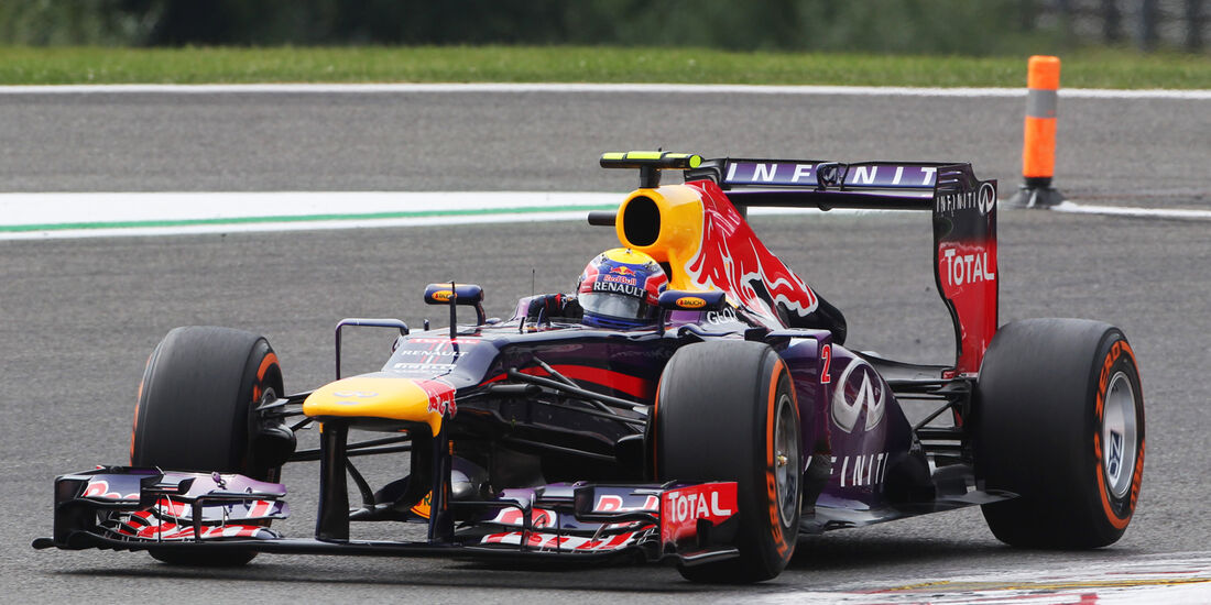 Mark Webber - Formel 1 - GP Belgien - Spa-Francorchamps - 24. August