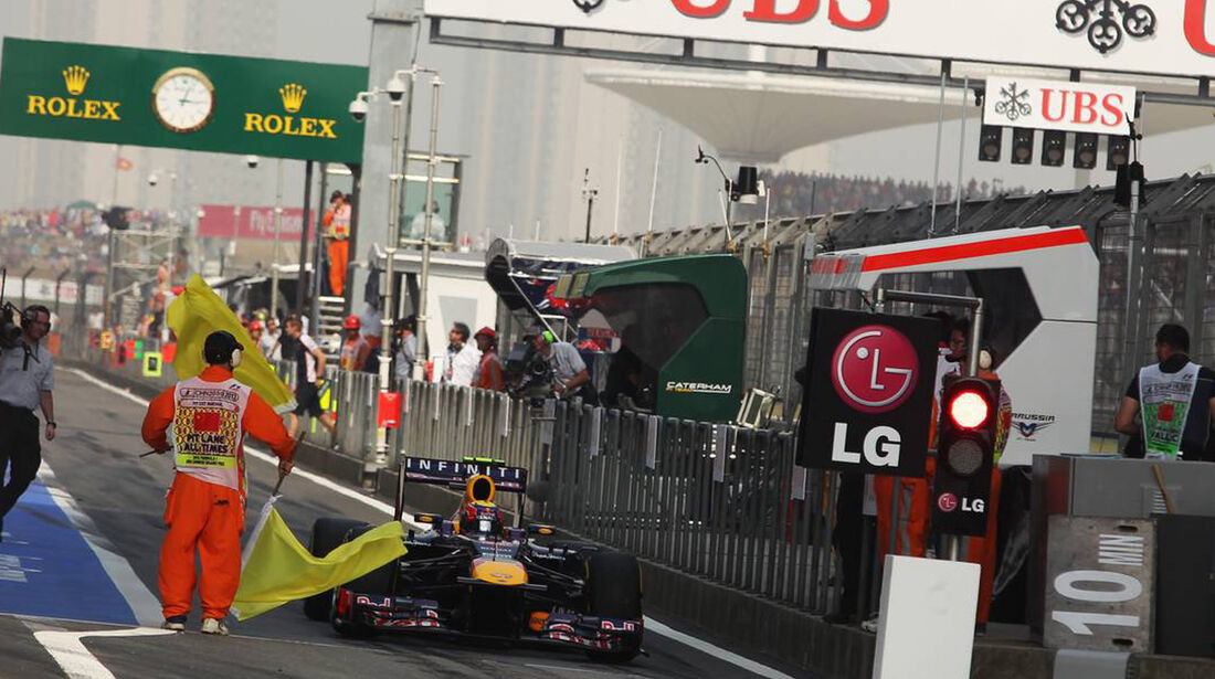 Mark Webber - Formel 1 - GP China - 14. April 2013