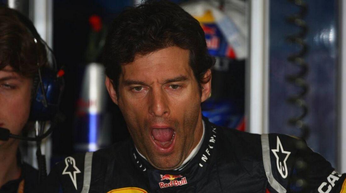 Mark Webber Formel 1 GP China 2011