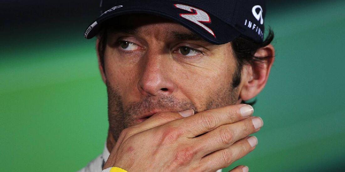 Mark Webber - Formel 1 - GP Deutschland - 21. Juli 2012