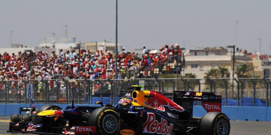 Mark Webber  - Formel 1 - GP Europa - 24. Juni 2012