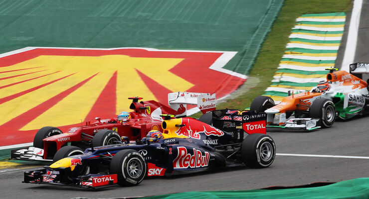 Mark Webber GP Brasilien 2012
