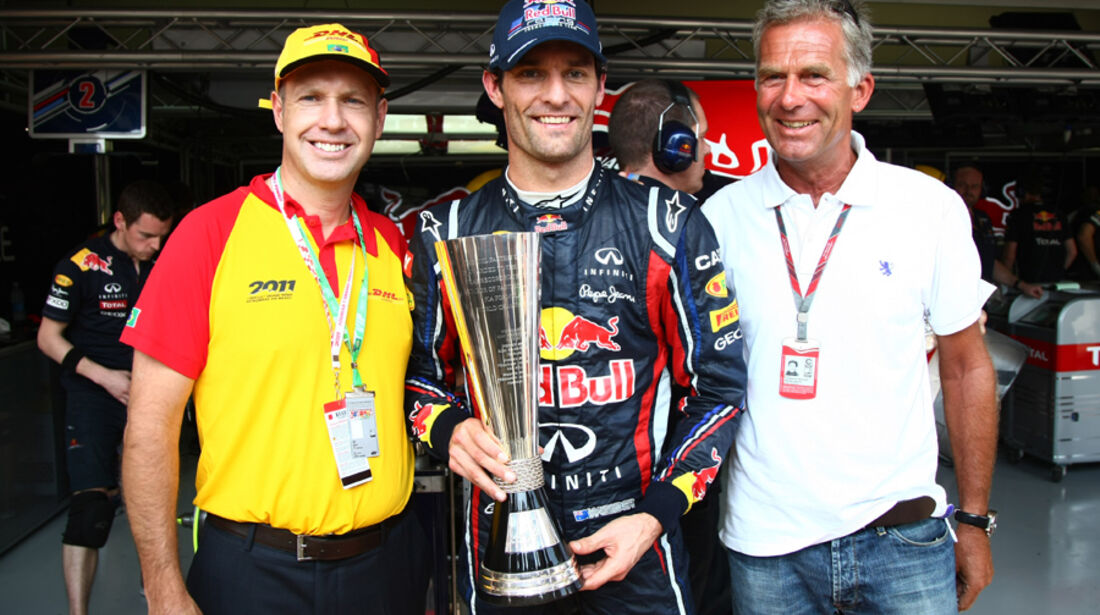 Mark Webber - GP Brasilien - 25. November 2011