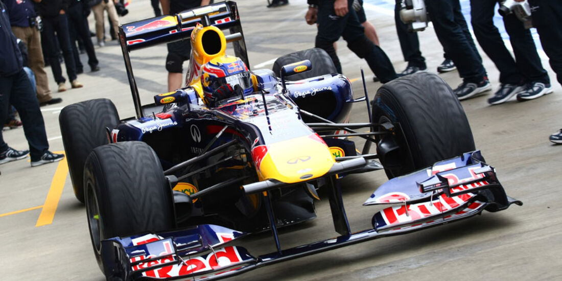 Mark Webber GP England 2011