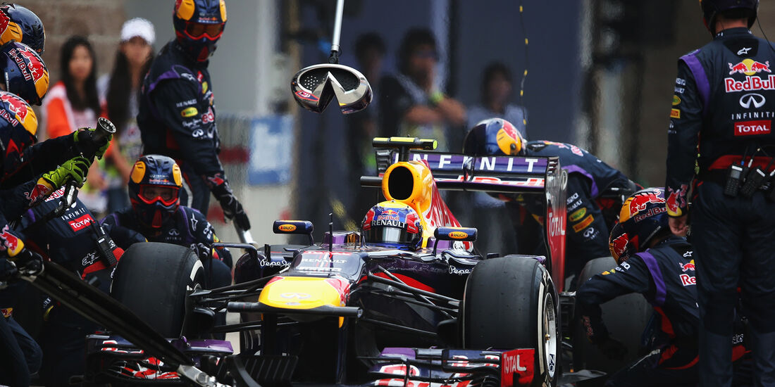 Mark Webber - GP Korea 2013