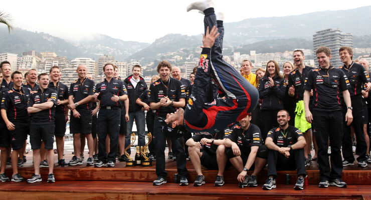 Mark Webber GP Monaco 2012