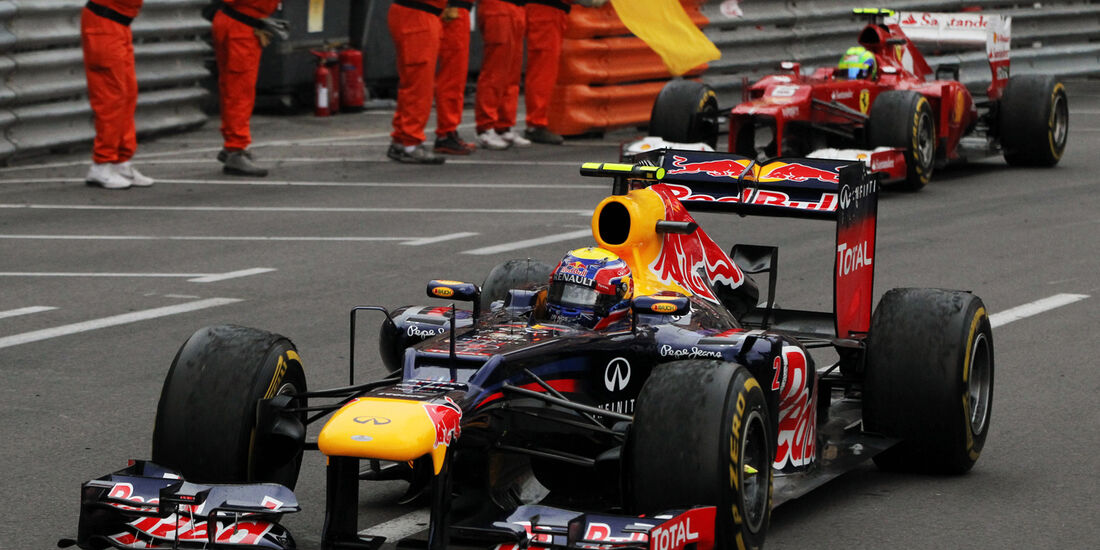 Mark Webber - GP Monaco 2012