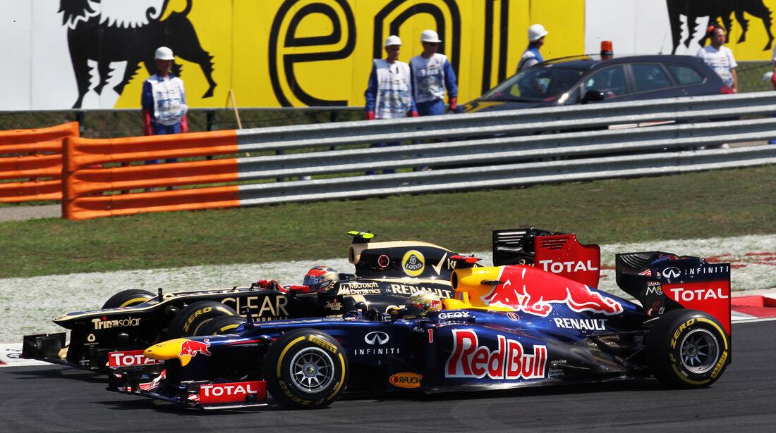 Mark Webber GP Ungarn 2012