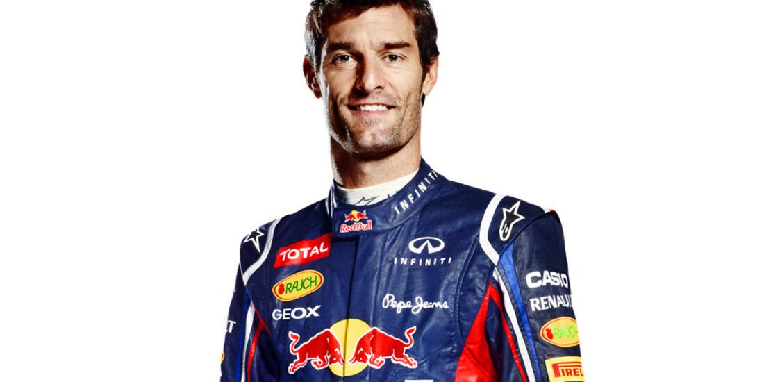 Mark Webber Porträt 2012