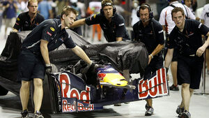 Mark Webber Red Bull Crash Singapur 2009