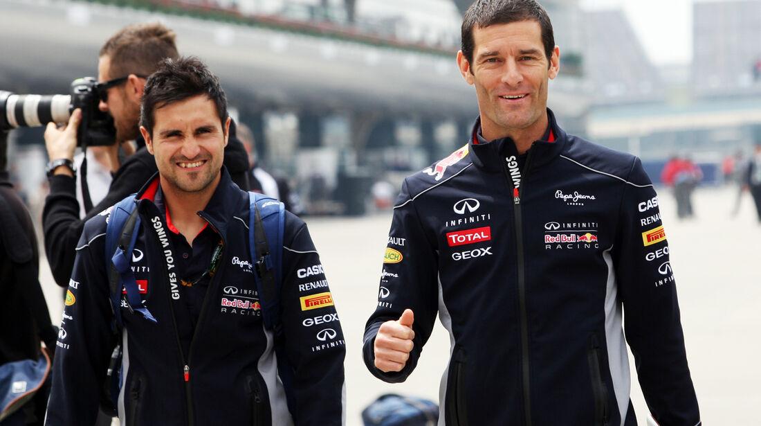 Mark Webber - Red Bull - Formel 1 - GP China - 11. April 2013
