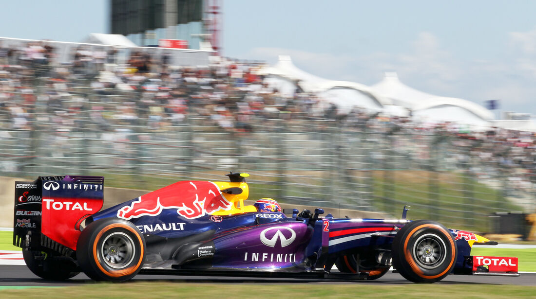 Mark Webber - Red Bull - Formel 1 - GP Japan 2013