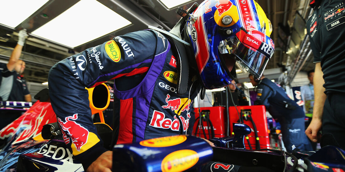 Mark Webber - Red Bull - Formel 1 - GP Japan - Suzuka - 11. Oktober 2013