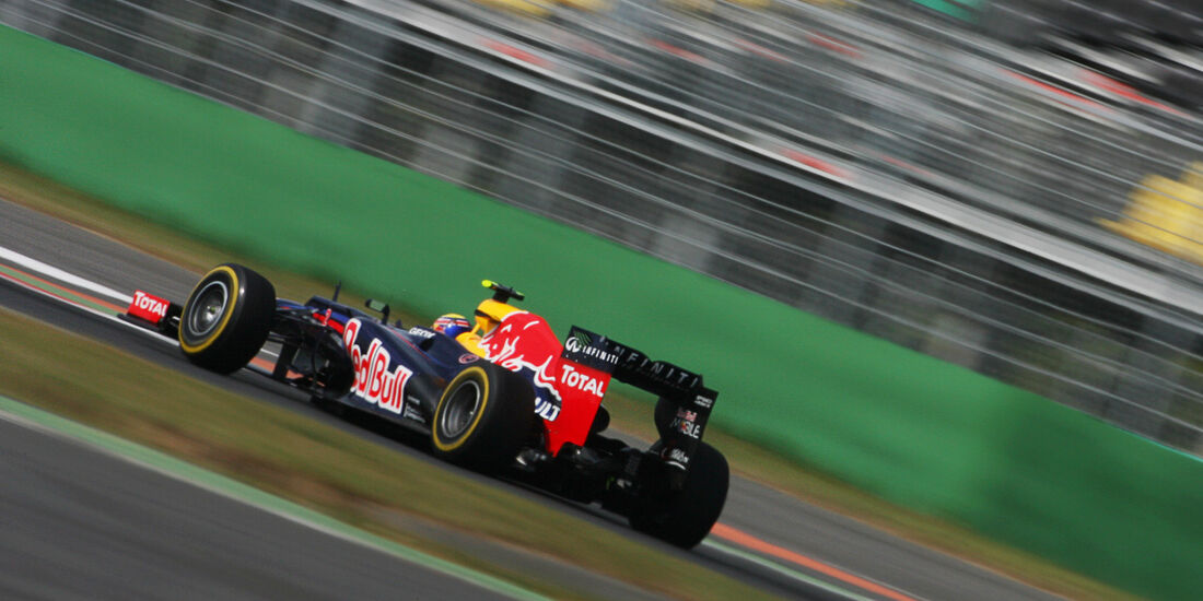 Mark Webber - Red Bull - Formel 1 - GP Korea - 12. Oktober 2012