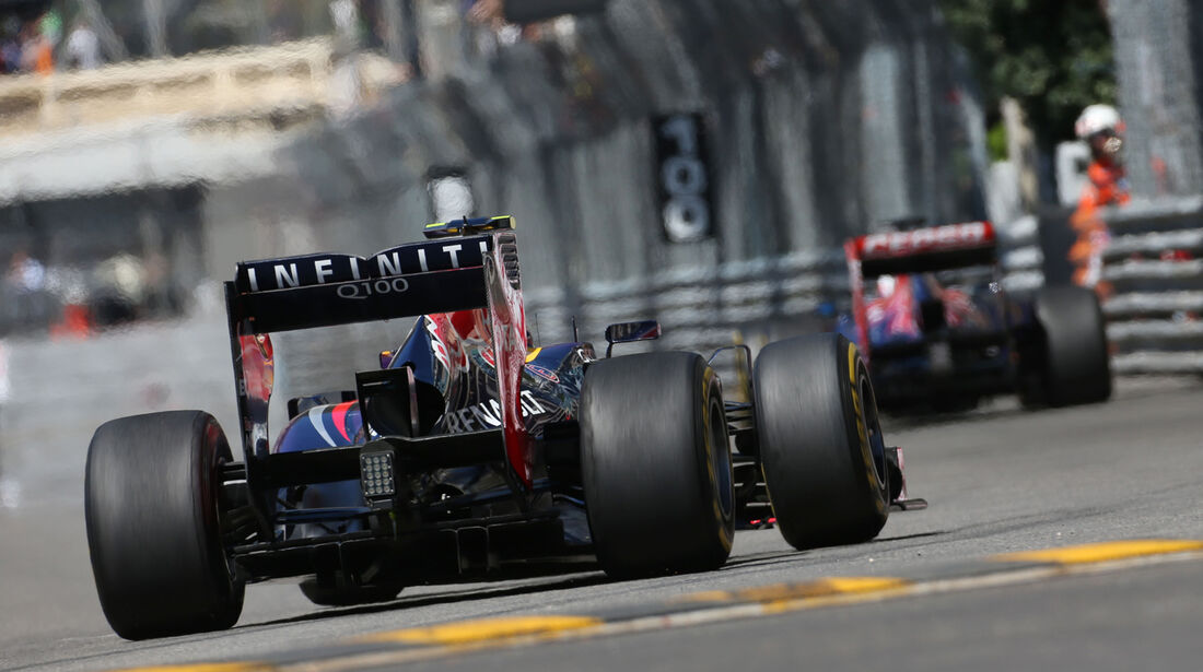 Mark Webber - Red Bull - Formel 1 - GP Monaco - 23. Mai 2013