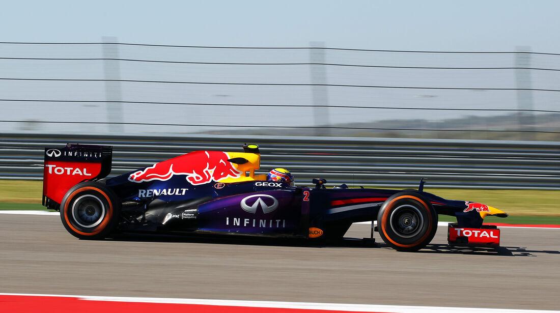 Mark Webber - Red Bull - Formel 1 - GP USA - 15. November 2013