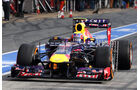 Mark Webber - Red Bull - Formel 1 - Test - Barcelona - 2. März 2013