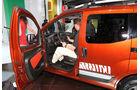 Markus Stier im Fiat Cubo Nitro auf der IAA 2011