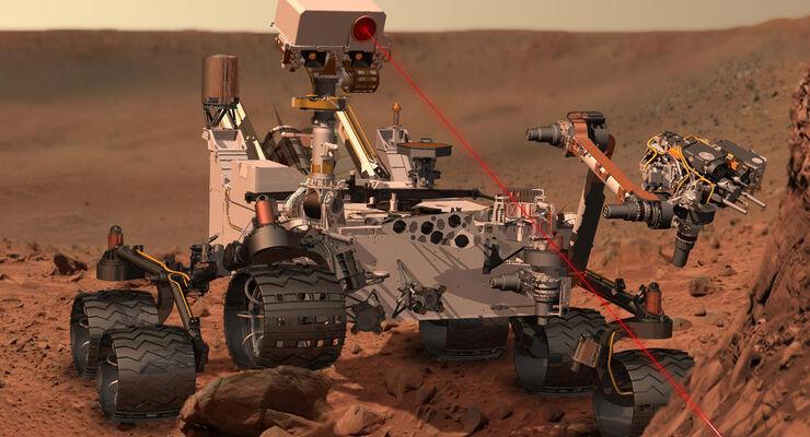 Mars Sonde Curiosity NASA 2012