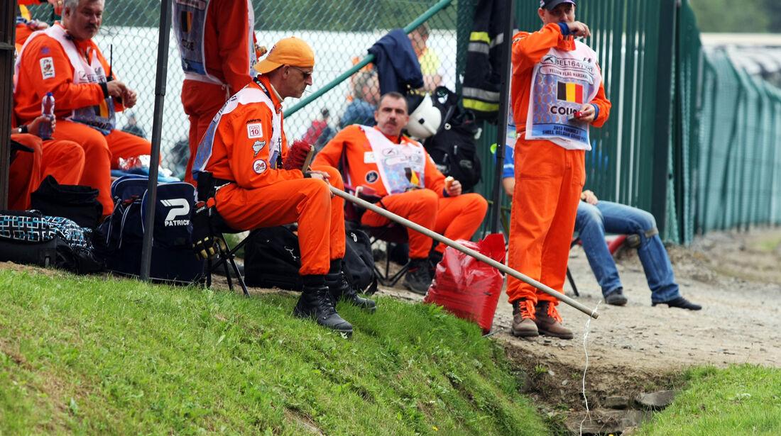 Marshalls - Formel 1 - GP Belgien - Spa-Francorchamps - 24. August