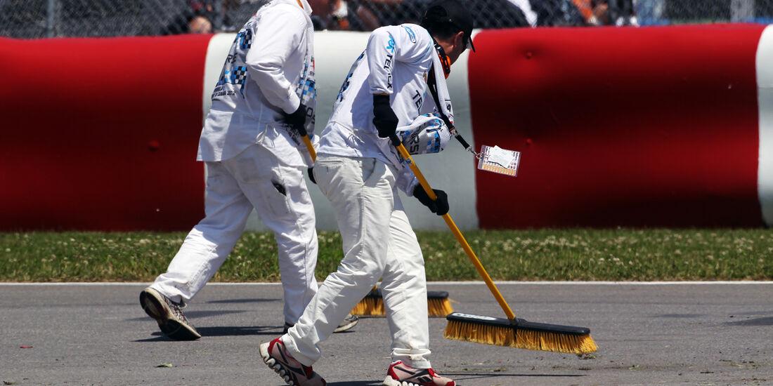 Marshalls - Formel 1 - GP Kanada - 10. Juni 2012