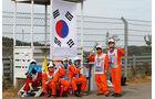 Marshals - Formel 1 - GP Korea - 5. Oktober 2013