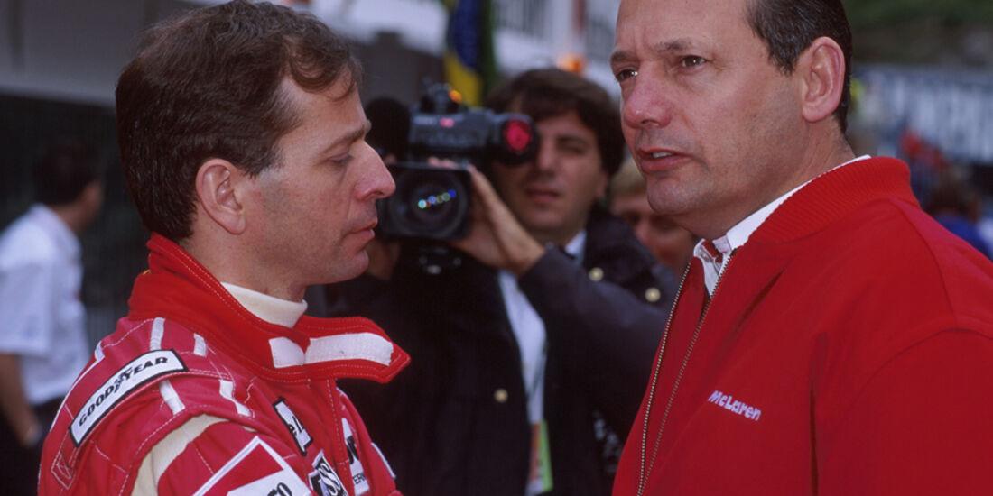 Martin Brundle 1994 McLaren Dennis