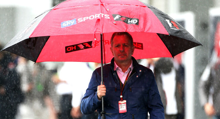 Martin Brundle - GP Japan 2014