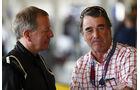 Martin Brundle & Nigel Mansell - Williams-Jubiläum - Silverstone - 2017