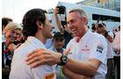 Martin Whitmarsh Pedro de la Rosa - Formel 1 - GP Italien - 08. September 2012