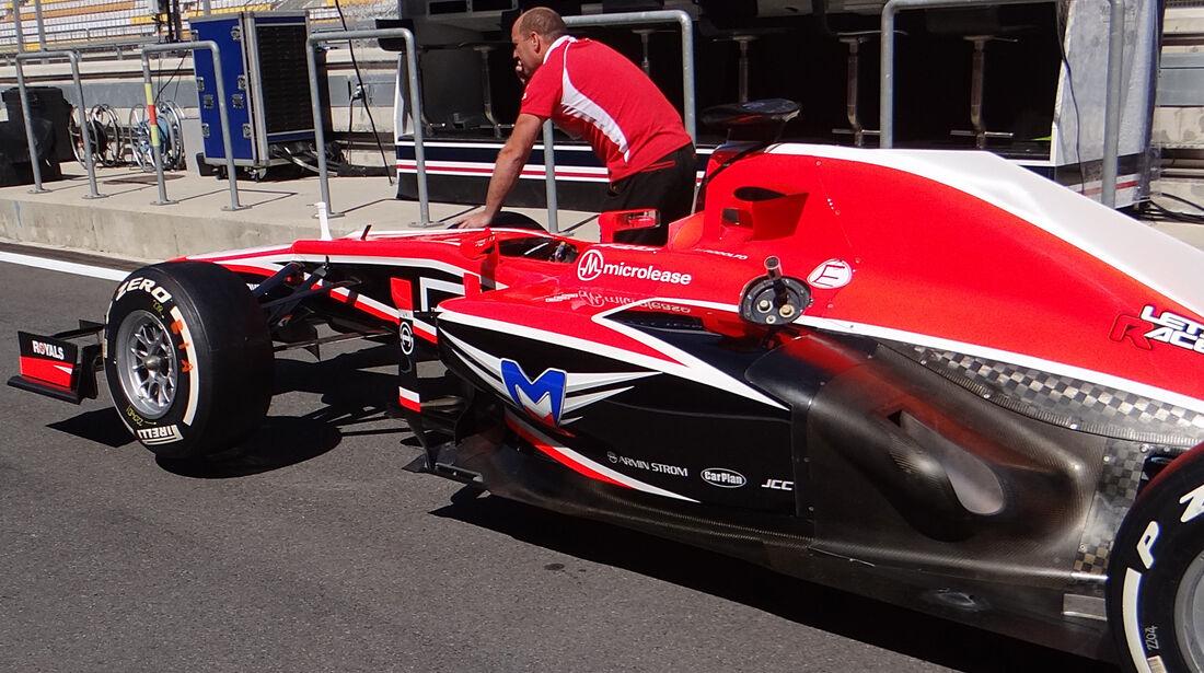 Marussia - Auspuff - Formel 1 2013