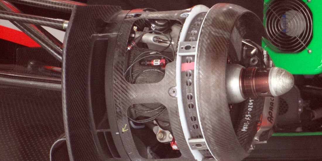 Marussia Bremsbelüftung - Formel 1 - GP China - 11. April 2013