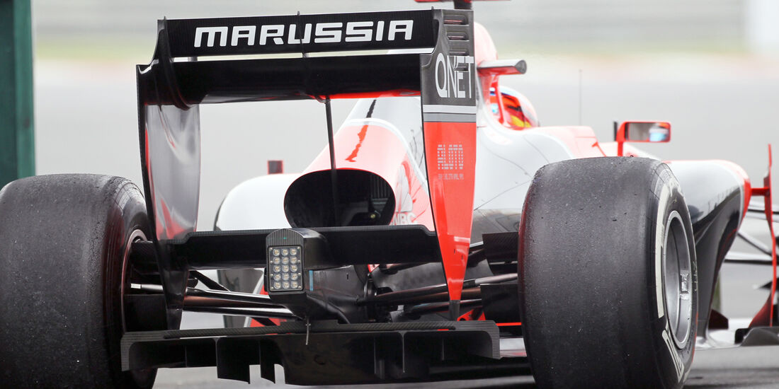 Marussia - Formel 1 - GP China - 13. April 2012