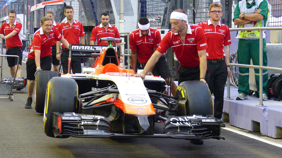 Marussia - Formel 1 - GP Singapur - 18. September 2014
