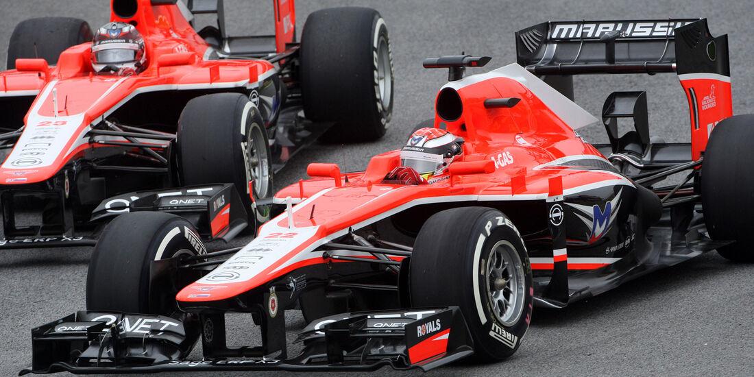 Marussia - GP Brasilien 2013