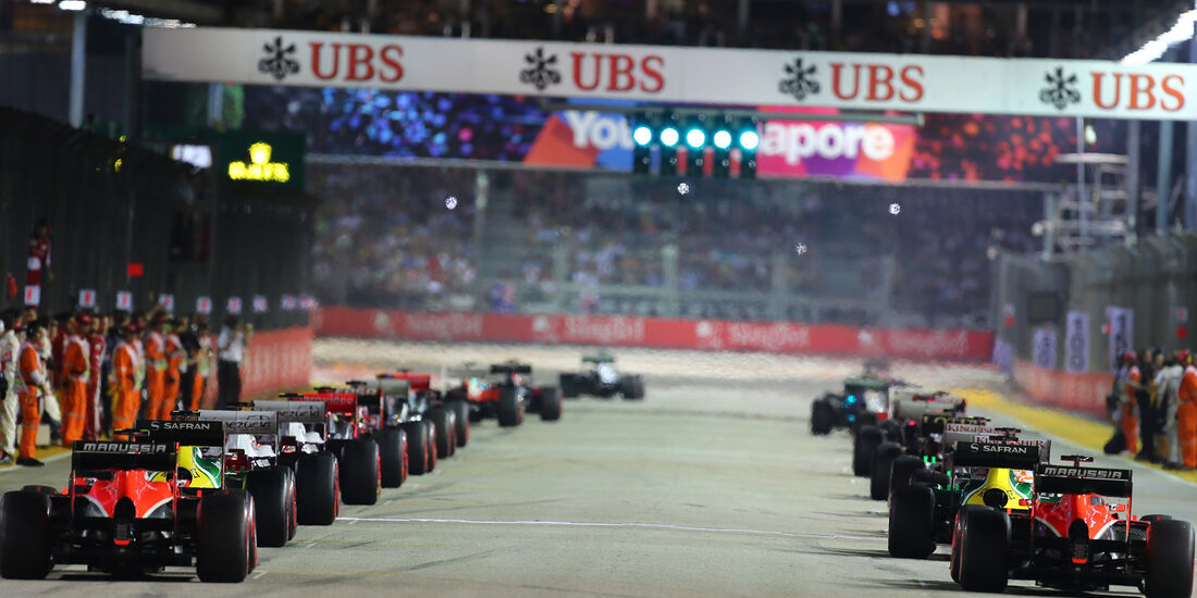 Marussia - GP Singapur 2013