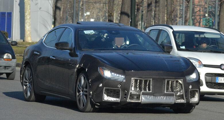 Maserati Ghibli Facelift Erlkönig