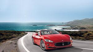 Maserati Gran Cabrio Sport, Frontansicht, Verdeck offen