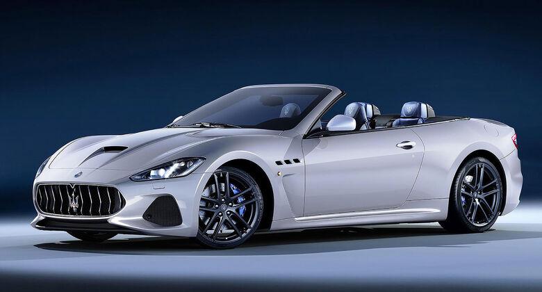 Maserati GranCabrio Facelift 2018