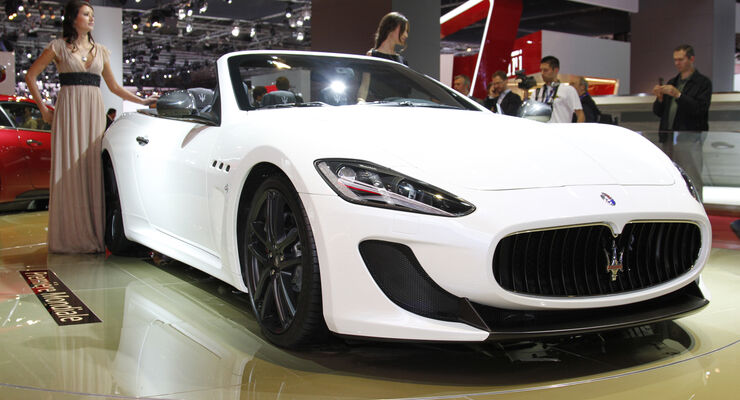 Maserati GranCabrio MC, Messe, Autosalon Paris 2012