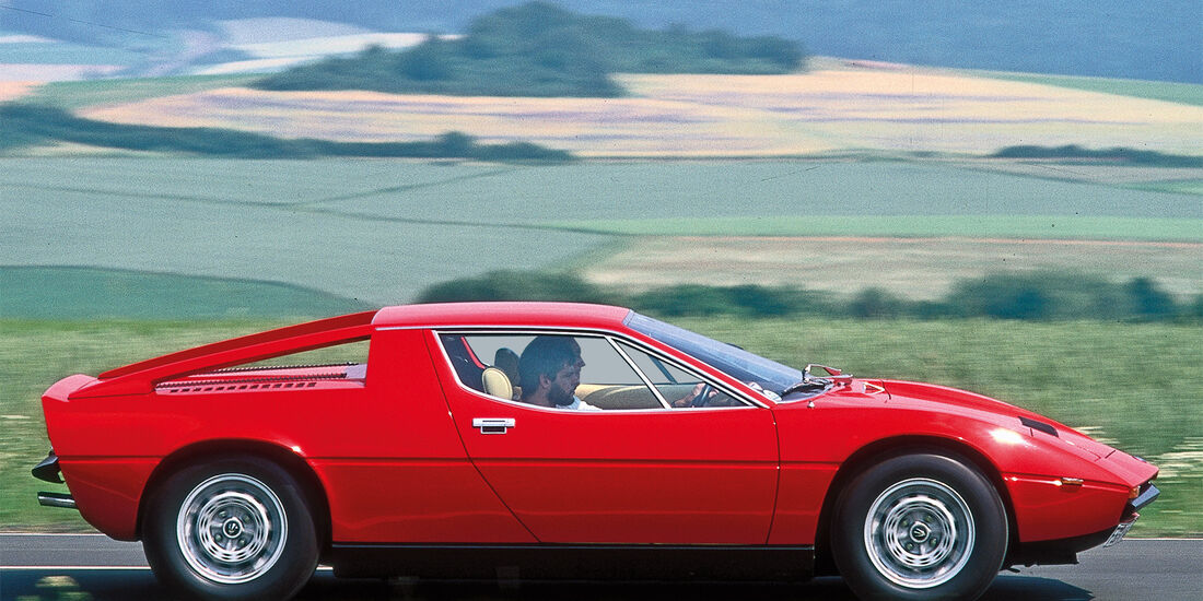 Maserati Merak SS, Seitenansicht